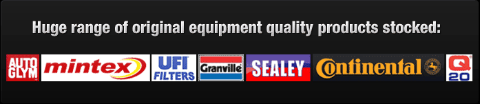 huge Range of Manufactirers Original Equipment