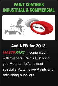 Automative paint coatings industrial & commercial - with General Paints UK